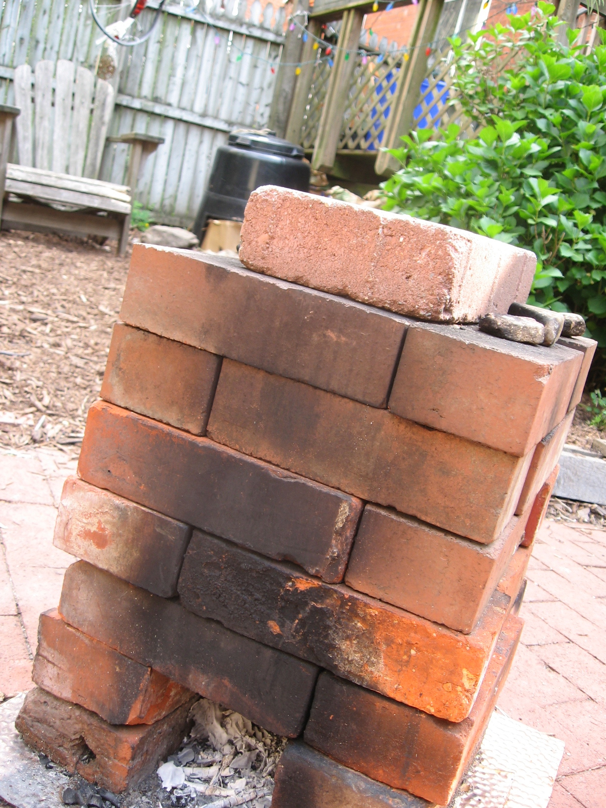 Our 27 Brick Rocket Stove Cultural Engine